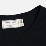 Женская футболка Maison Kitsune Tricolor Fox Patch Black фото- 2