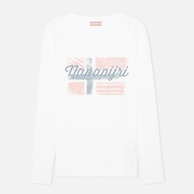 Napapijri Stabba Women's Longsleeve Bright White