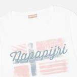 Женский лонгслив Napapijri Stabba Bright White фото- 1