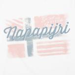 Женский лонгслив Napapijri Stabba Bright White фото- 2