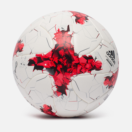 Футбольный мяч adidas Krasava FIFA Confederations Cup 2017 White/Red/Power Red/Clear Grey