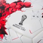 Футбольный мяч adidas Krasava FIFA Confederations Cup 2017 White/Red/Power Red/Clear Grey фото- 2