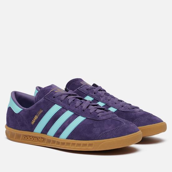 Кроссовки adidas Originals Hamburg Tech Purple/Clear Aqua/Gum