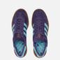 Кроссовки adidas Originals Hamburg Tech Purple/Clear Aqua/Gum фото - 1