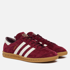Кроссовки adidas Originals Hamburg Maroon/Off White/Gum