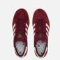 Кроссовки adidas Originals Hamburg Maroon/Off White/Gum фото - 1