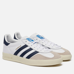 Мужские кроссовки adidas Originals Gazelle Indoor White/Collegiate Navy/Off White