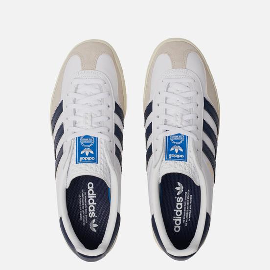 Мужские кроссовки adidas Originals Gazelle Indoor White/Collegiate Navy/Off White