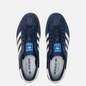 Мужские кроссовки adidas Originals Gazelle Indoor Collegiate Navy/Off White/Grey Six фото - 1