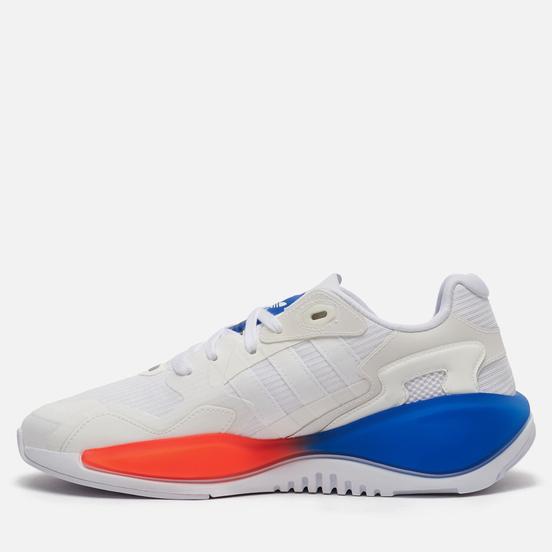 Кроссовки adidas Originals ZX Alkyne White/White/Blue
