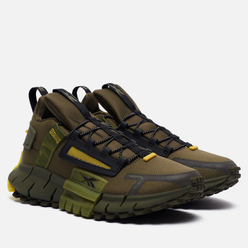 Кроссовки Reebok Zig Kinetica Edge Army Green/Black/Utility Yellow
