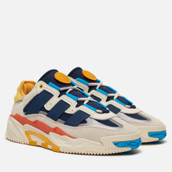 Мужские кроссовки adidas Originals Niteball Cream White/Signal Cyan/Collegiate Navy