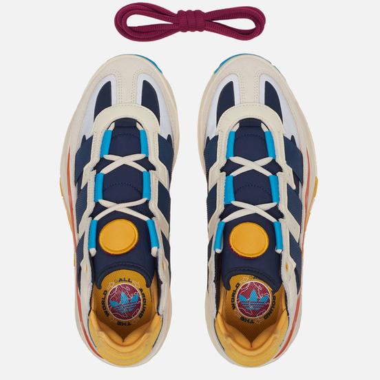 Кроссовки adidas Originals Niteball Cream White/Signal Cyan/Collegiate Navy