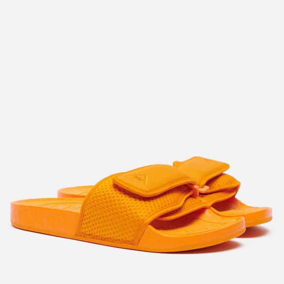 Сланцы adidas Originals x Pharrell Williams Boost Slide Bright Orange/Bright Orange/Bright Orange