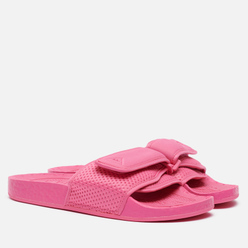 Сланцы adidas Originals x Pharrell Williams Boost Slide Semi Solar Pink/Semi Solar Pink/Semi Solar Pink