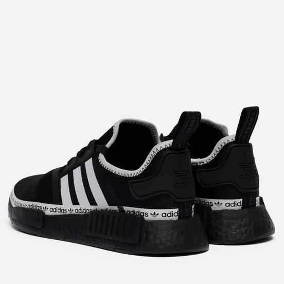 Мужские кроссовки adidas Originals NMD_R1 Core Black/Cloud White/Cloud White