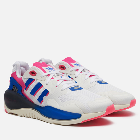 Кроссовки adidas Originals ZX Alkyne White/Core Black/Shock Pink