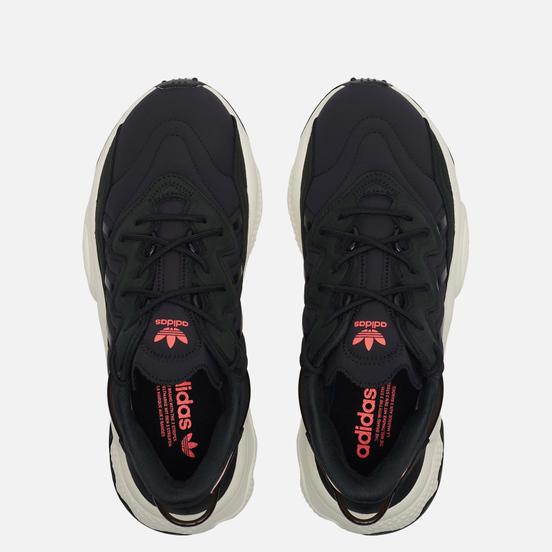 Кроссовки adidas Originals Ozweego Core Black/Core Black/Signal Pink