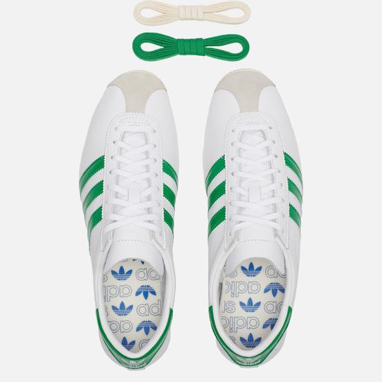 Кроссовки adidas Originals Overdub White/Green/Cream White
