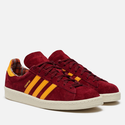 Мужские кроссовки adidas Originals Campus 80s Collegiate Burgundy/Solar Gold/Off White
