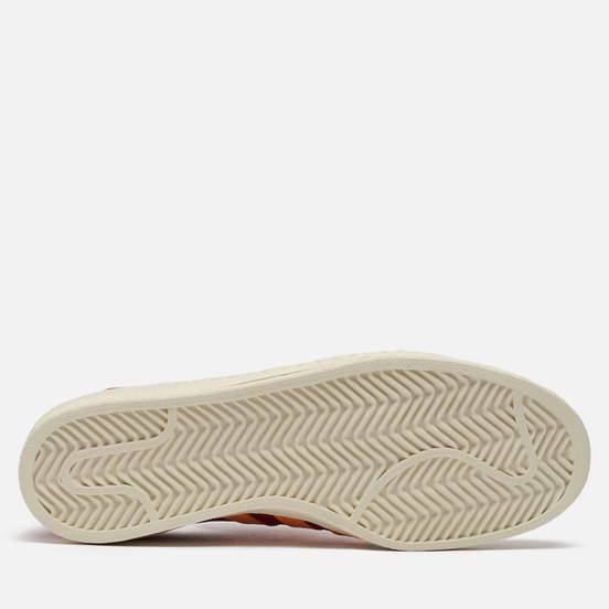 Мужские кроссовки adidas Originals Campus 80s Collegiate Burgundy/Solar Gold/Off White