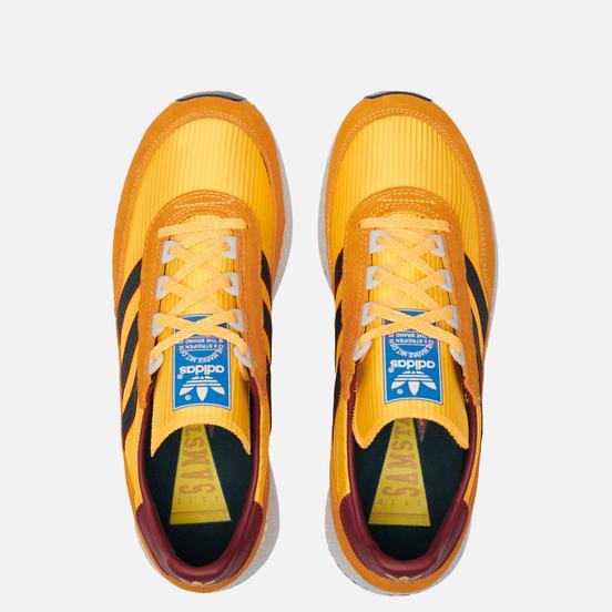 Мужские кроссовки adidas Originals Glenbuck Solar Gold/None/Collegiate Burgundy