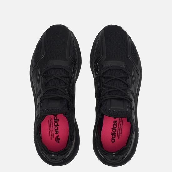 Мужские кроссовки adidas Originals ZX 2K Boost Core Black/Core Black/Shock Pink