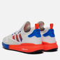 Кроссовки adidas Originals ZX 2K Boost White/Solar Red/Blue фото - 2