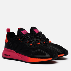 Кроссовки adidas Originals ZX 2K Boost Core Black/Core Black/Solar Red