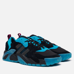 Мужские кроссовки adidas Originals Streetball Low Core Black/Signal Cyan/Power Berry