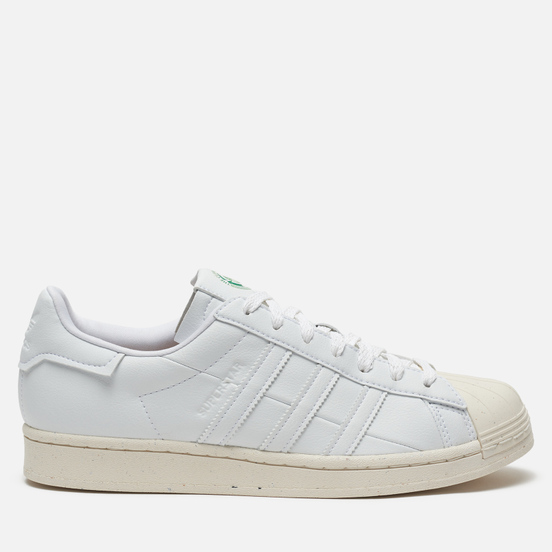 Кроссовки adidas Originals Superstar White/Off White/Green