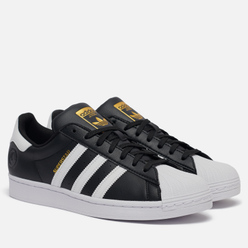 Кроссовки adidas Originals Superstar Vegan Core Black/White/Gold Metallic