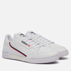Кроссовки adidas Originals Continental 80 Vegan Cloud White/Collegiate Navy/Scarlet