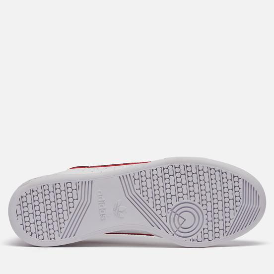 Кроссовки adidas Originals Continental 80 Vegan Cloud White/Collegiate Navy/Scarlet