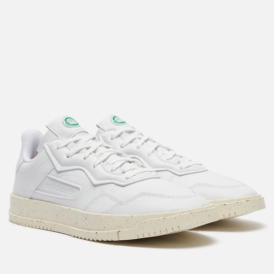 Кроссовки adidas Originals Super Court Premiere White/Off White/Green