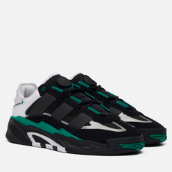 Кроссовки adidas Originals Niteball Core Black/White/Sub Green