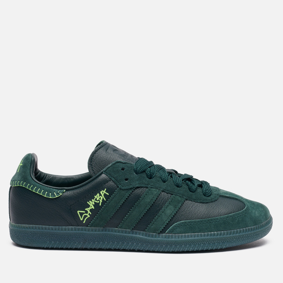 Кроссовки adidas Originals x Jonah Hill Samba Green Night/Mineral Green/Ecru Tint