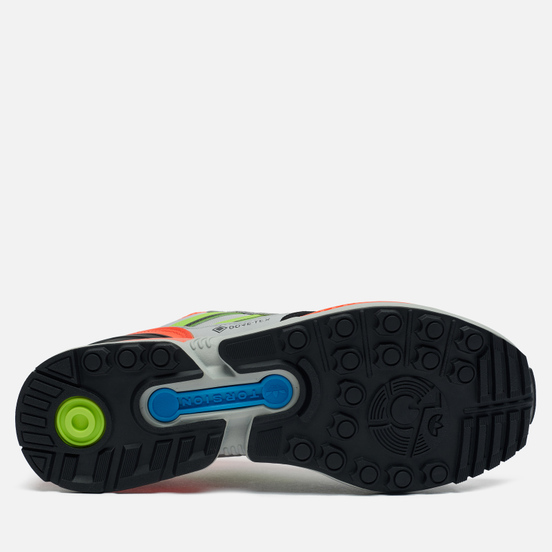 Мужские кроссовки adidas Originals x IRAK ZX 8000 Gore-Tex Clear Onix/Semi Solar Slime/Solar Red