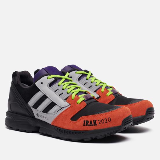 Мужские кроссовки adidas Originals x IRAK ZX 8000 Gore-Tex Core Black/Clear Onix/Solar Red
