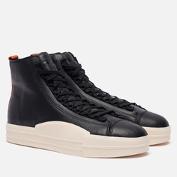 Кроссовки Y-3 Yuben Mid Сore Black/Core Black/Fox Orange