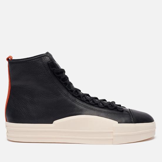 Мужские кроссовки Y-3 Yuben Mid Сore Black/Core Black/Fox Orange
