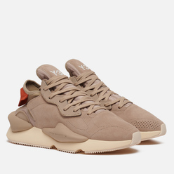 Кроссовки Y-3 Kaiwa Trace Khaki/Trace Khaki/Fox Orange