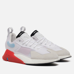 Кроссовки Y-3 Orisan Chalk White/Red/Signal Cyan