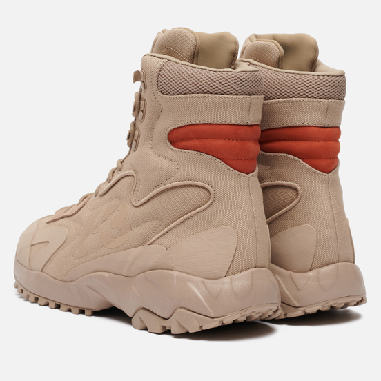 Ботинки Y-3 Notoma Trace Khaki/Trace Khaki/Fox Orange