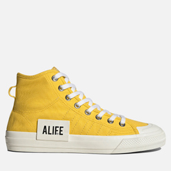 Кеды adidas Originals x Alife Nizza High Wonder Glow/Off White/Off White