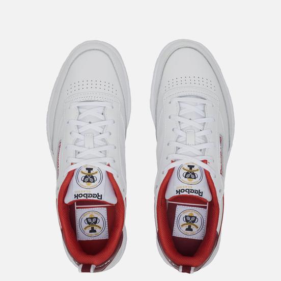 Кроссовки Reebok Club C 85 35th Anniversary Legacy Red/Merlot/White