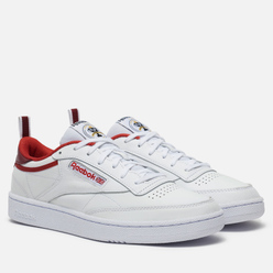 Кроссовки Reebok Club C 85 35th Anniversary Legacy Red/Merlot/White
