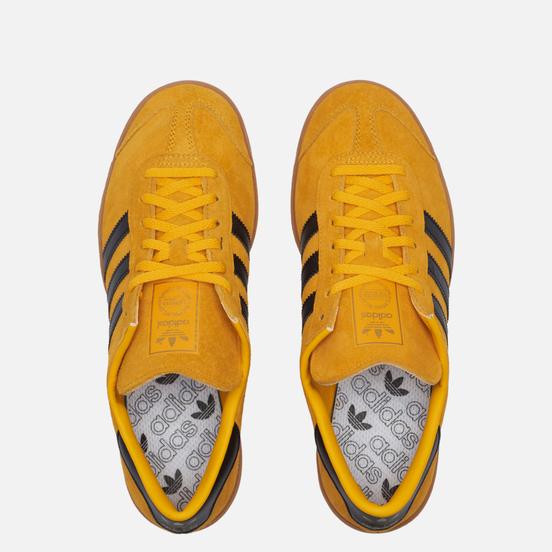 Кроссовки adidas Originals Hamburg Crew Yellow/Core Black/Gold Metallic