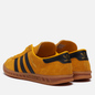 Кроссовки adidas Originals Hamburg Crew Yellow/Core Black/Gold Metallic фото - 2