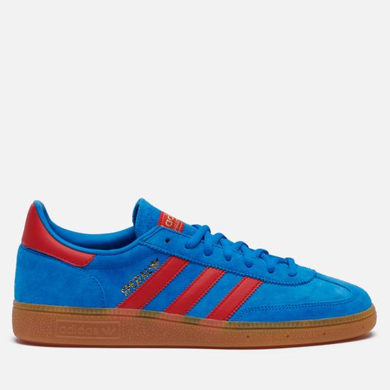 Кроссовки adidas Originals Handball Spezial Bright Blue/Vivid Red/Gold Metallic